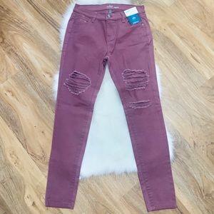 NY&C | NWT Runway Legging Soho Distressed Pants 2